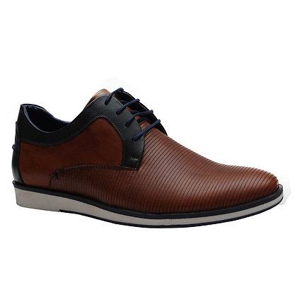 Zapato Paolino Marrón en Cuero