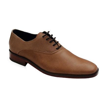 Zapato Dante Trigo en Cuero