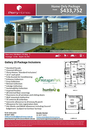 Home Only Package - Gallery 25 - June 20
