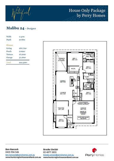 House only - Malibu 24 - May 2021 to Deb