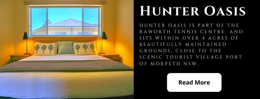 Accommodation Morpeth Maitland Hunter Va