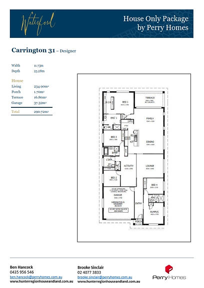 House only - Carrington 31 - May 2021 to