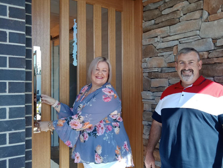 Amazing Build of our Forever Home–our Site Supervisor is an asset to your business-Michael & Joanne
