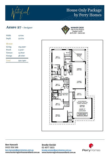 House only - Azure 27 - May 2021 to Deb_