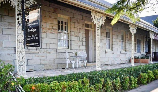 Surgeon's Cottage morpeth nsw hunter val