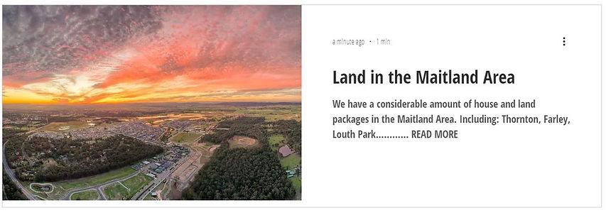 Land in Maitland area.JPG