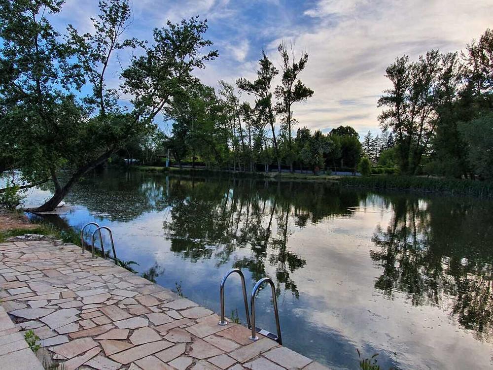 Zona de Baño de San Esteban de Gormaz. Fuente: Ayuntamiento.