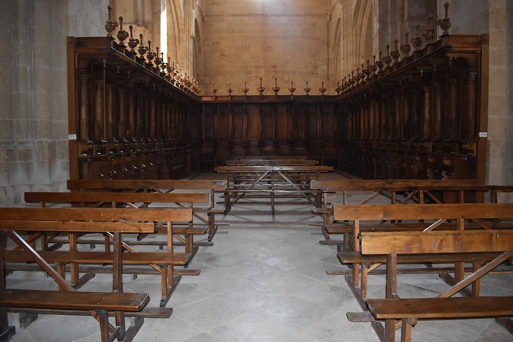 Parte de la iglesia de Santa María de Sandoval