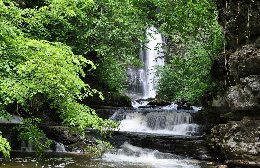 Cascada de las Pisas. Fuente: Las Merindades