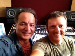in Michael James' LA studio
