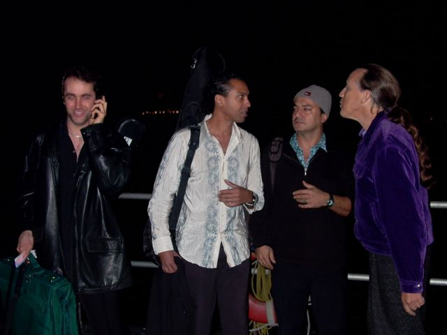 Shahin band with Richard Hardy