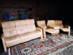 Beige sofa Himolla