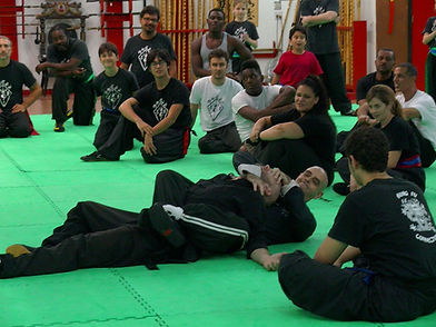 Floor Grappling seminar with Master Rubio