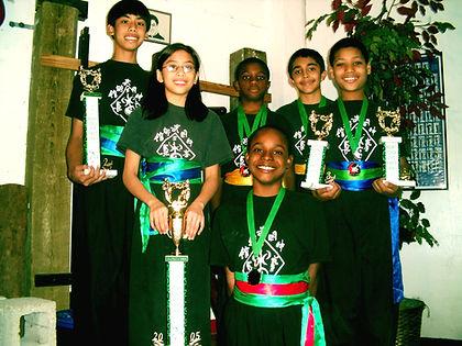 martial art tournament winners