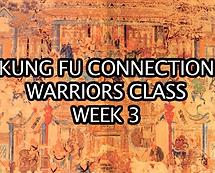 Warriors Class Week 3