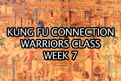 Warriors Class Week 7