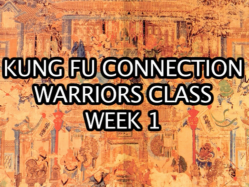 Warriors Class Week 1