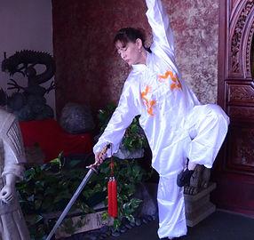 Darn Gim, Tai chi straight sword