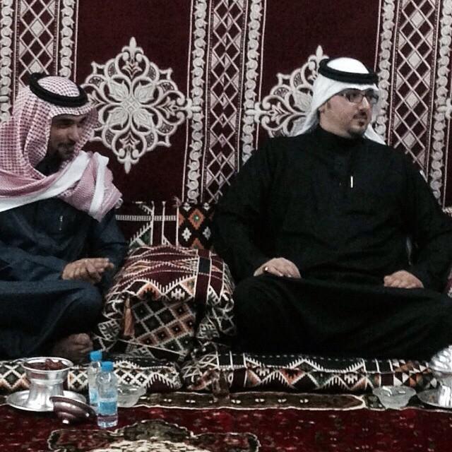 مع الأمير منصور بن جلوي