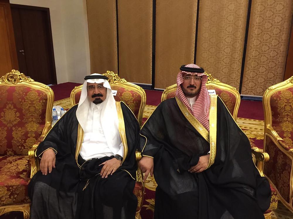 من اليمين عبدالحي حلواني وعبدالعزيز حلواني