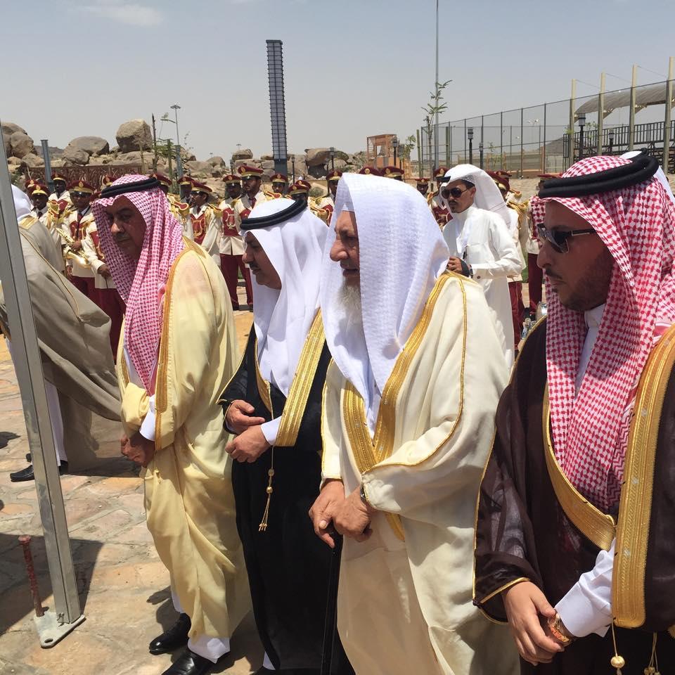 استقبال أمير منطقة مكة