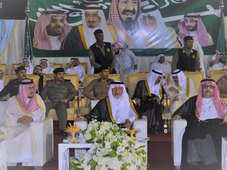 سلطان خالد حلوانيفي حفلبطولة مكة لجمال الجواد العربي