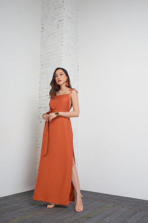 Multiple Way Maxi Dress - Orange