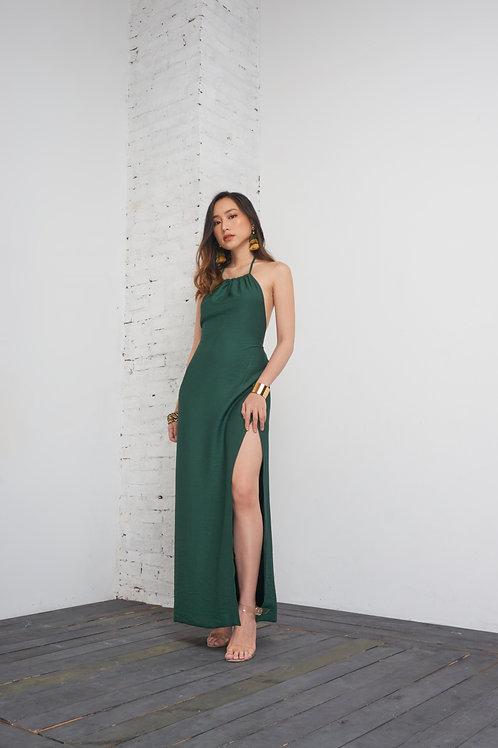 Multiple Way Maxi Dress - Dark Green