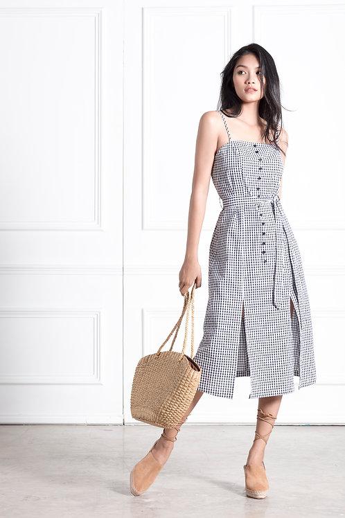 A Line Dress - Gingham