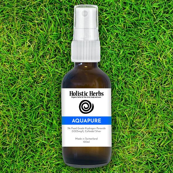 aquapure mist spray bottle grass