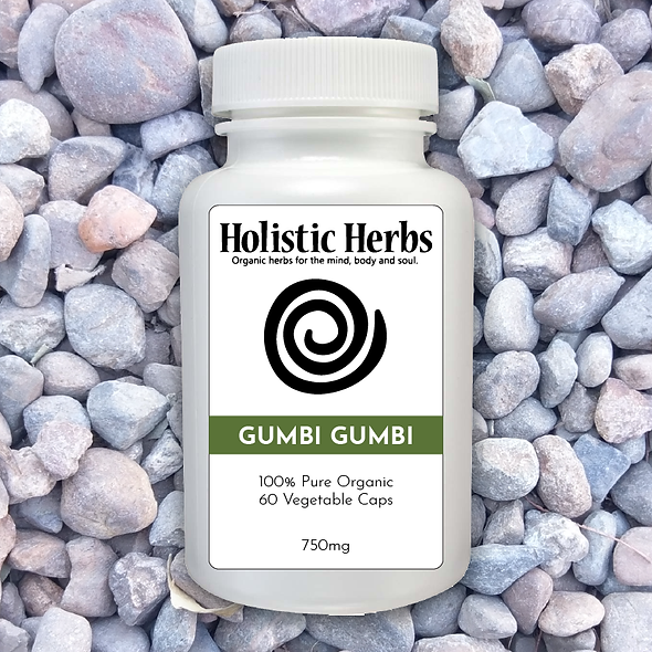 Gumbi Gumbi capsule supplement pill bottle