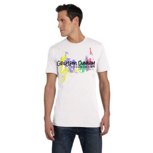 Adult Unisex White Crewneck T-Shirt