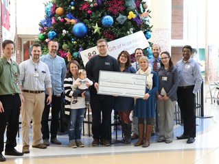 $7,000 PICU Donation