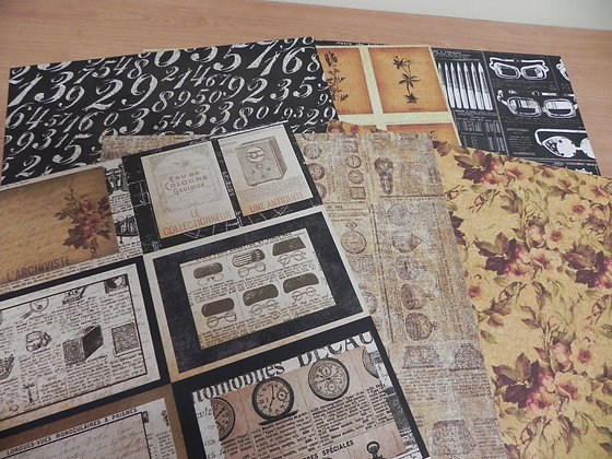 P Archivist Paper 12x12