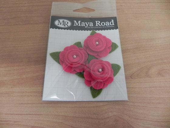 MR Felt Roses