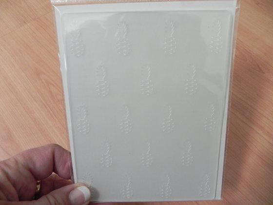 PP citrus bliss emboss folder
