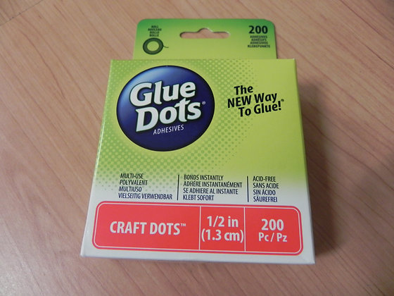 Glue Dots craft