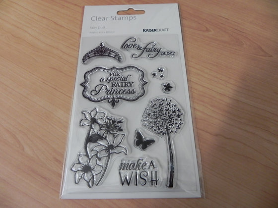 """K """"fairy dust"""" stamps"""