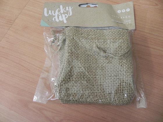 K Lucky Dip Jute bags sml