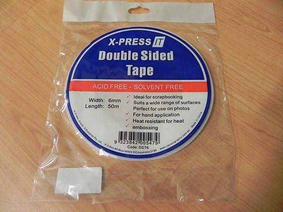 Xpress it Double-sided tape 6mm