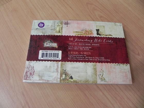 P Deb 4x6 journal cards