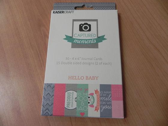 K Hello baby 4x6 CM