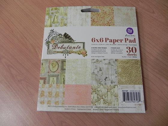 P Deb 6x6 paper pad