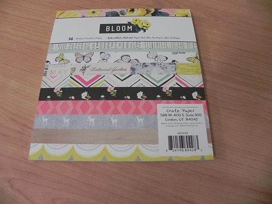 MH Bloom 6x6 paper pad