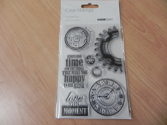 K Time clear stamp