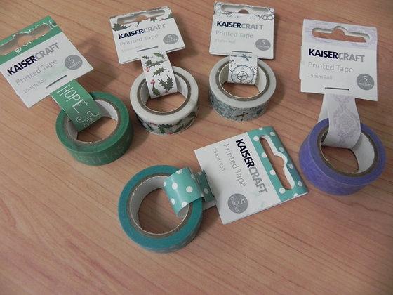 Kaiser washi tape