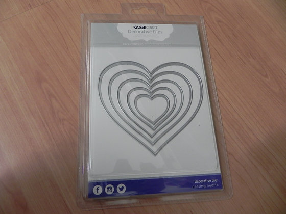 K decorative dies - hearts