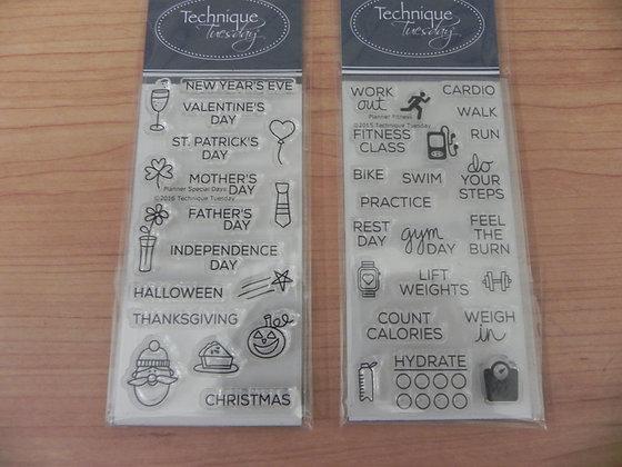 TT2 planner stamps