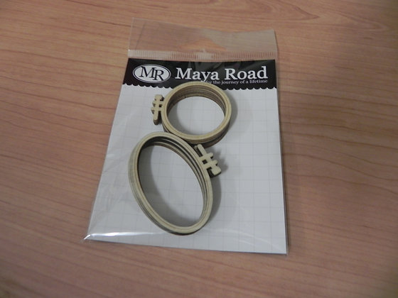 MR mini wood hoops