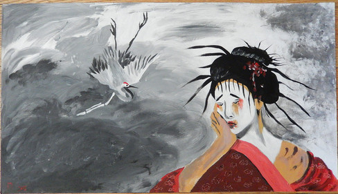 """The Sad Geisha"""